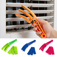 Removable Window Leaves Blinds Cleaner Duster microfiber cleaning cloth for the air conditioning home cleaning