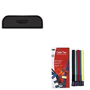KITBLKB2B052BLKF8B024 - Value Kit - Belkin Adapter (BLKB2B052) and Belkin Multicolored Cable Ties (BLKF8B024)