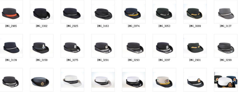 High Quality plastic peaked cap visor for caps