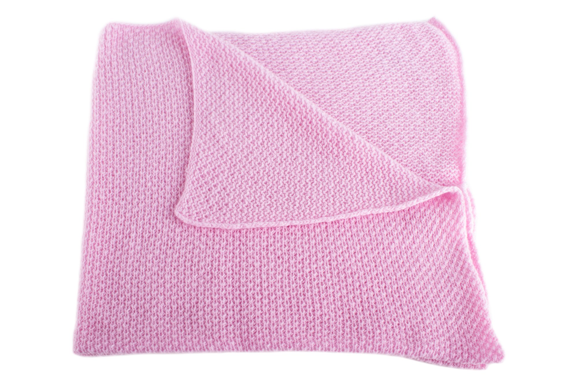 Get Quotations · Girls Super Soft 100% Cashmere Baby Blanket -  Baby Pink   - hand made cc51b110e