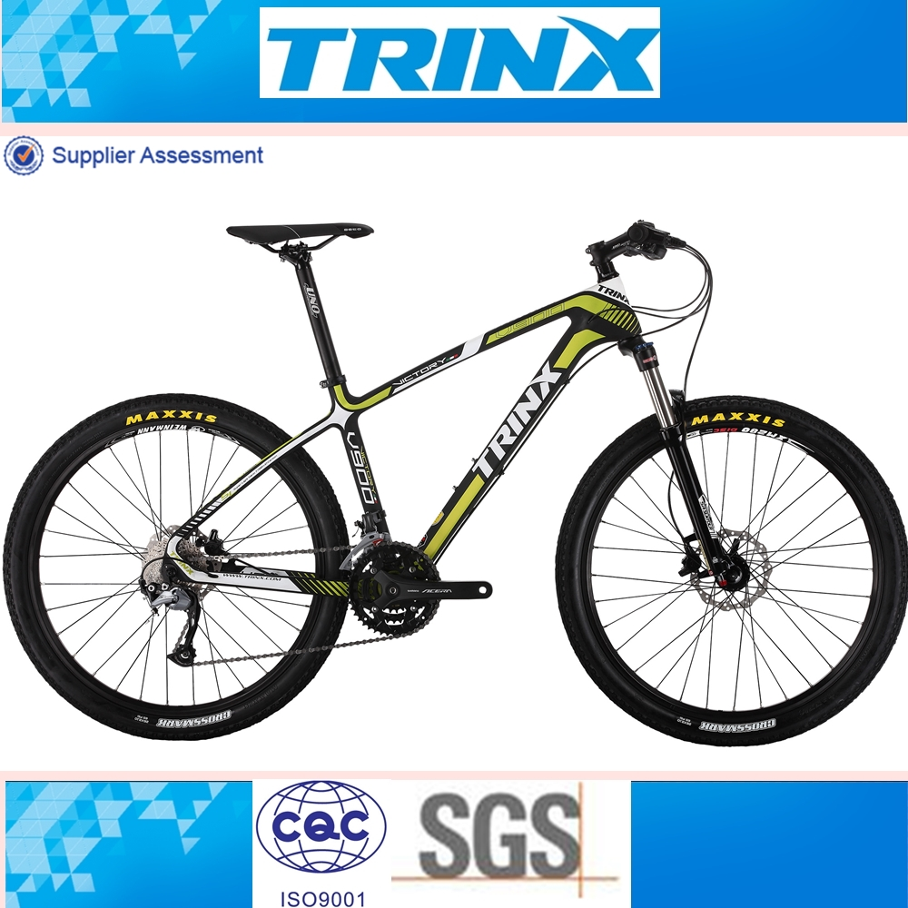 China Made Trinx 2016 Brand New Asia Carbon Mountain Bike Bicycle ...
