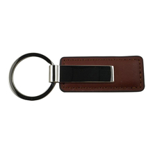 Factory Wholesale Custom leather tassel keychain