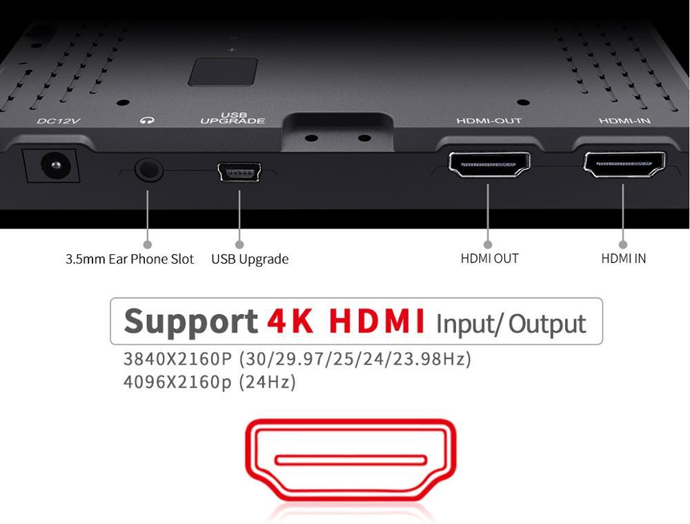 Feelworld Mini Full Hd 1920x1080 Small Field 5 Inch Lcd Monitor With 4k  Hdmi Input - Buy 5 Inch Lcd Monitor,Mini 5 Inch Lcd Monitor With Hdmi  Input,5