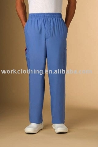 POLYESTER /COTTON BLUE nursing SUITS JACKETS & PANTS