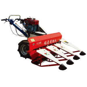 2018 mini soybean harvester wheat harvester paddy rice cutter machine price