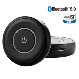 3.5mm jack CSR wireless audio adapter mini bluetooth transmitter and receiver 2 in 1 for mobile phones