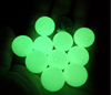 Luminous Glow in the Dark Beads silicone Loose Beads Jewelry Making DIY