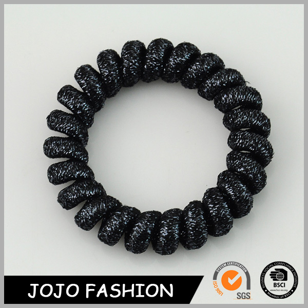 Hair Accessories Wholesale China Cool Men Black Telephone Wire Hair Band