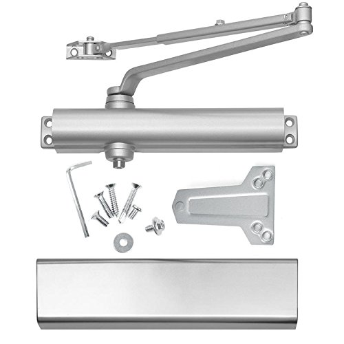 Lawrence Hardware Commercial Door Closers, Grade 1, Heavy Duty, Cast Aluminum, Model SL816, High-traffic Doorways. Identical = Norton 8501, Comparable = LCN 1461