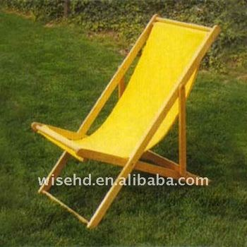 W C F1220 Wooden Folding Camping Chair