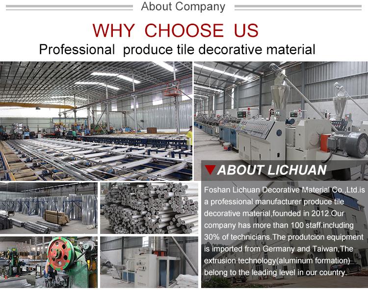 Aluminum Profile Tile Edge Protection Trim