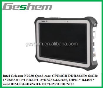 10 1 Inch Industrial Tablet Pc,Onboard Intel Celeron N2930 Cpu,Window  7/8/10/ Linux Os,4g/wifi/ Bt/'gps/ Com/rfid/nfc Option - Buy Industrial  Tablet