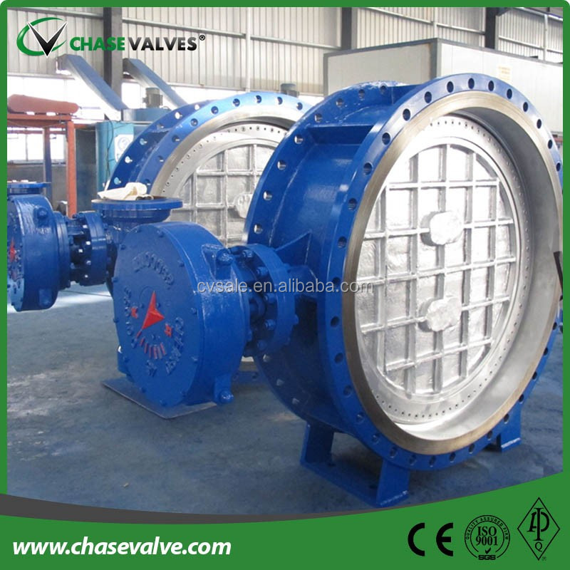 Flange Type A216 Wcb Triple Offset Butterfly Valves