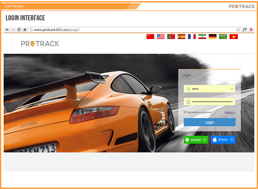 Protrack365 Fleet Management Free Web Real-time Tracking Gps ...