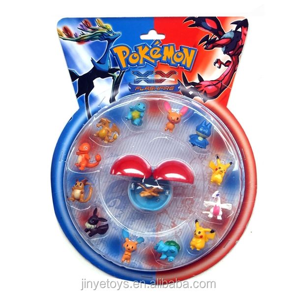 1.5 inch Pokemon Go action figure and Pokeball toys