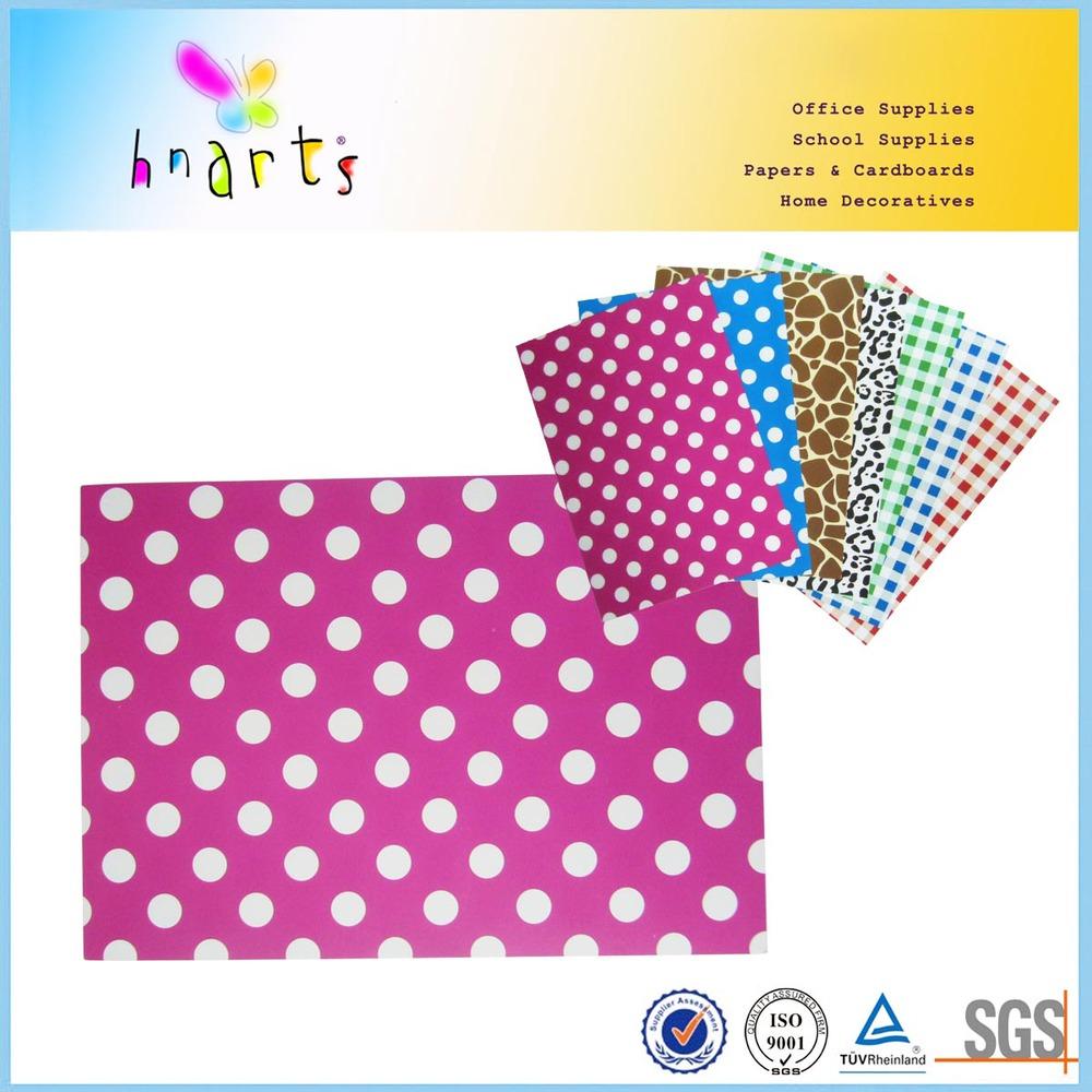 A4 Size Paper Menu Card Design/art Paper Printed Card/photo Carton ...