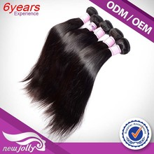 Double weft 12to 28 inch top quality 100% unprocessed malaysian 7a human hair