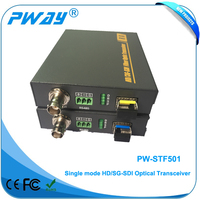 1 CH 1080P signal hd-sdi fiber optical transmitter and receiver with RS485