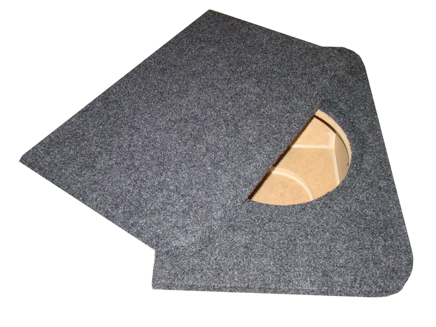 """Zenclosures 2000-2009 Honda S2000 1-12"""" Subwoofer Box with STEALTH Protective Cover"""