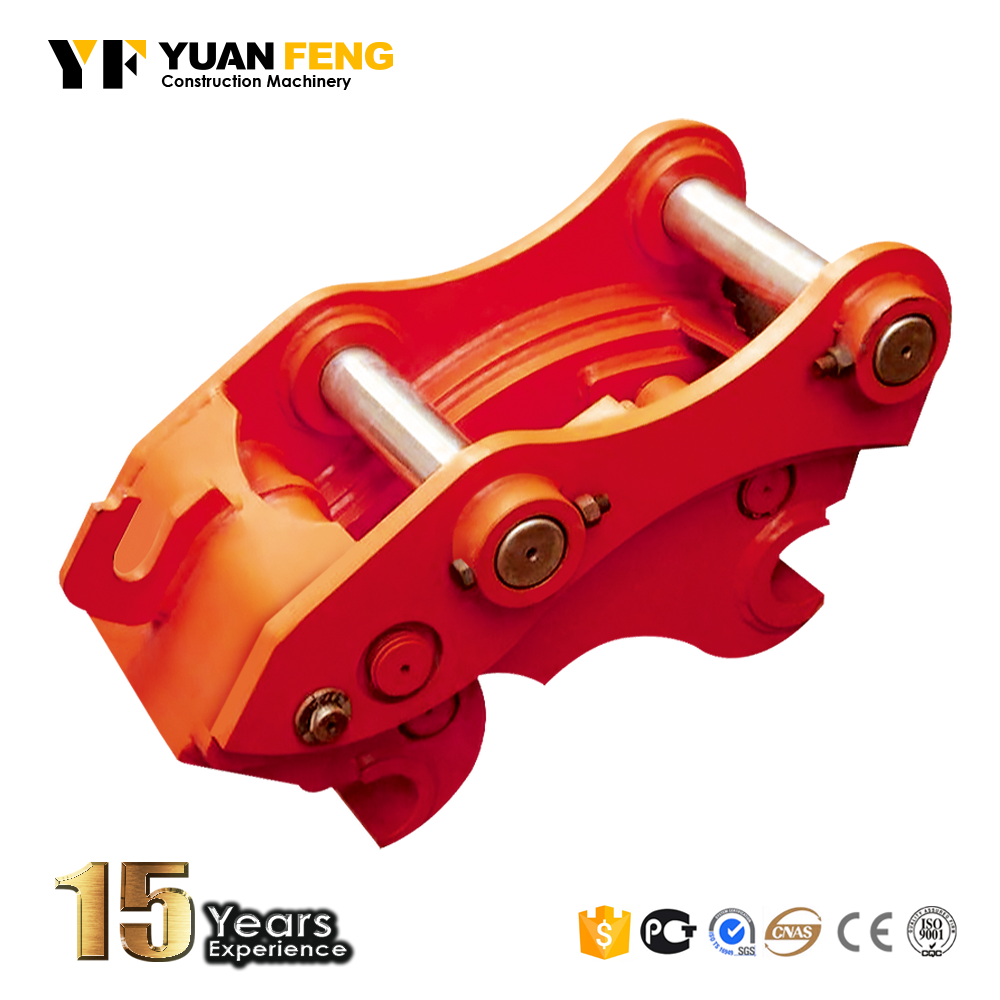 Excavator hydraulic and manual quick coupler Quick connector