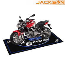 Jackson New Branded Anti-slip Rubber Backing Motorcycle Mat