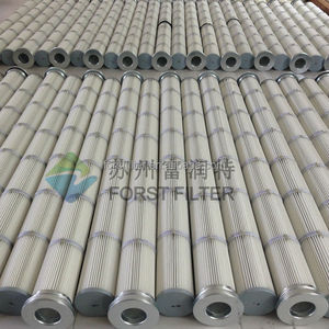 Dust Collector Pleated Bag Filter Pleated Long Filter