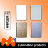 Sublimation blanks address books I07-3 sublimation metal note book