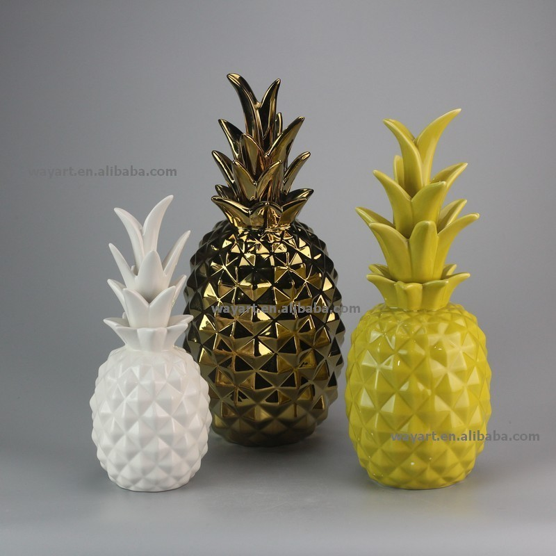 Best Selling Products Home Decor Bedroom Cheap Ceramic: 2015 New Design Ceramic Pineapple Home Decoration Ceramic