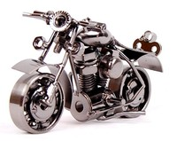 Luxury fashion home decor living room iron motorcycle model metal craft lover gift ideas variety of styles