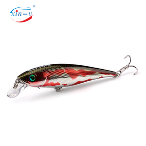 XINV fishing lure minnow hot sale plastic artificial lifelike jerkbait
