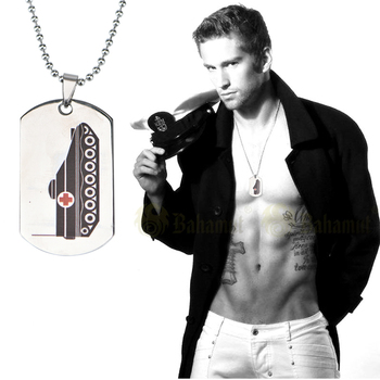 Military Xvideos Ambulance Blank Sterling Silver Dog Tags Machine Personalized Embossed Tag Chain Necklace