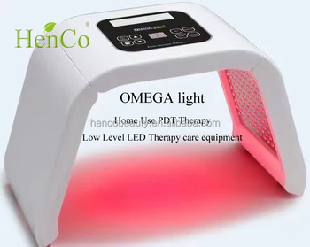 pdt omega light home use 4 colors pdt led facial mask skin rejuvenation mask