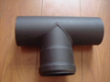 Chimney flue pipes for pellet stove