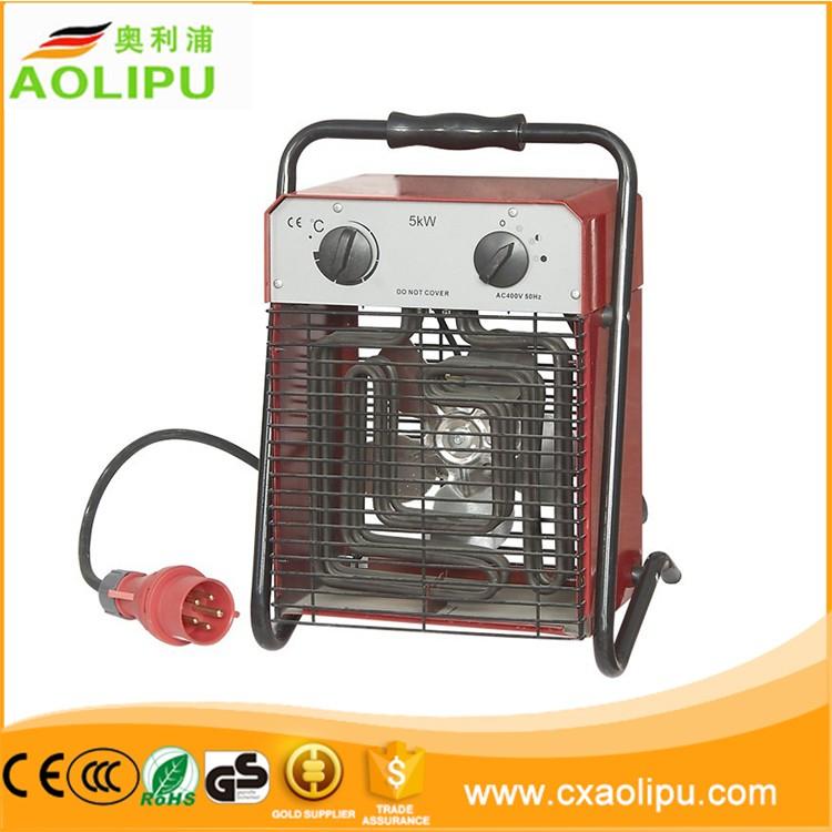 3 kW Ventilateur électrique de chauffage industriel entrepôt 3000 W 230 V tension coup de chaleur