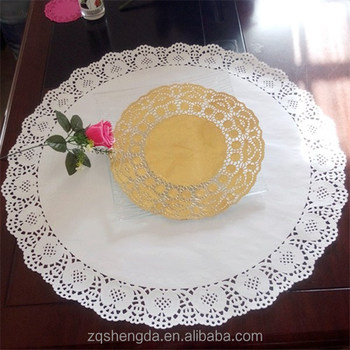 Round Table Placemats.New Christmas Products Disposable Paper Placemats In Lace Doily Patterns 25 5 Inch Large Round Paper Placemats For Round Tables Buy Placemats For