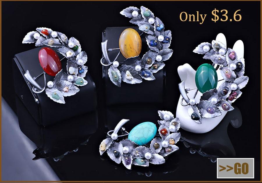df0ade89c4d Elegant Full Simulated-pearl Nice Jewelry Tree Shape Brooch Vintage ...