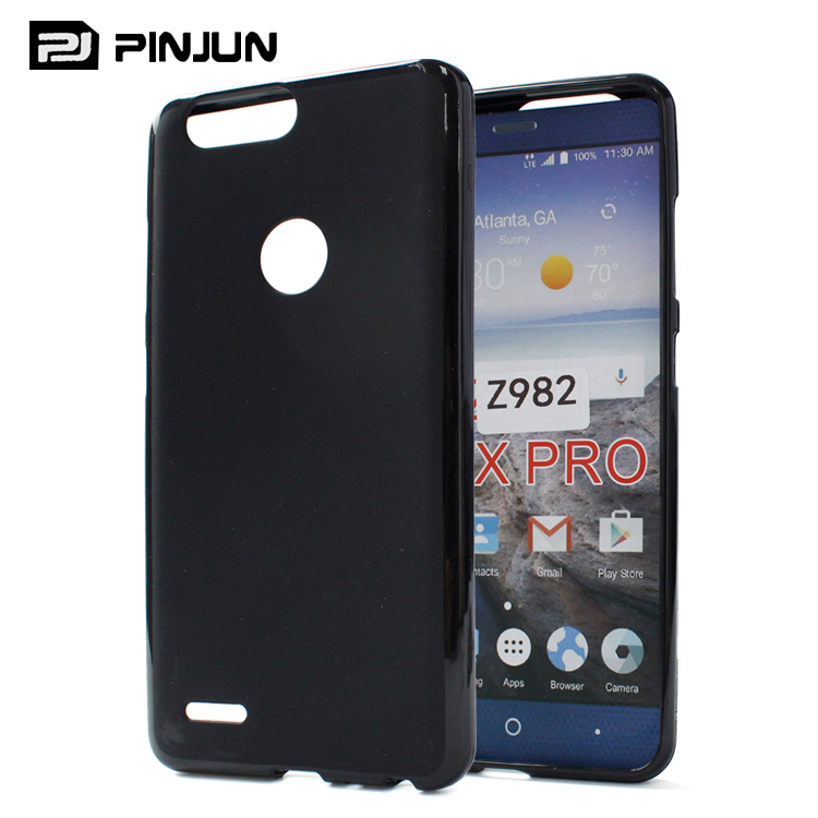 wholesale anti-skidding frosted phone case for zte z max pro 2 z982 , tpu covers for zte sequoia case