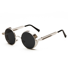 steampunk Mirror Sun Glasses Ladies Sunglasses