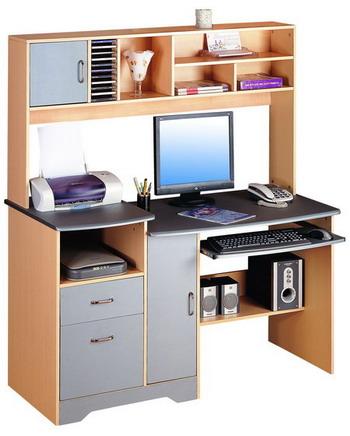 Libreria con ikea computer scrivania tavolo le parti for Mobili per pc a scomparsa