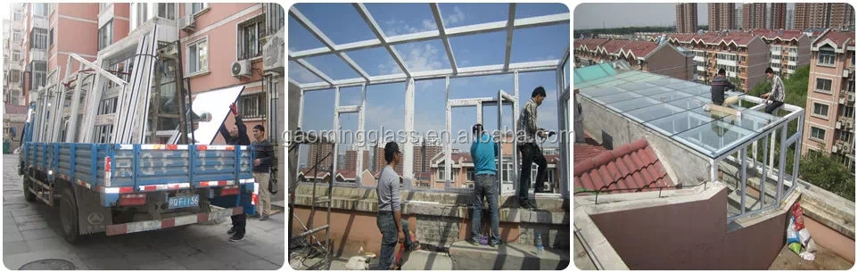 Gaoming Finest House Sun Roof For Residential House