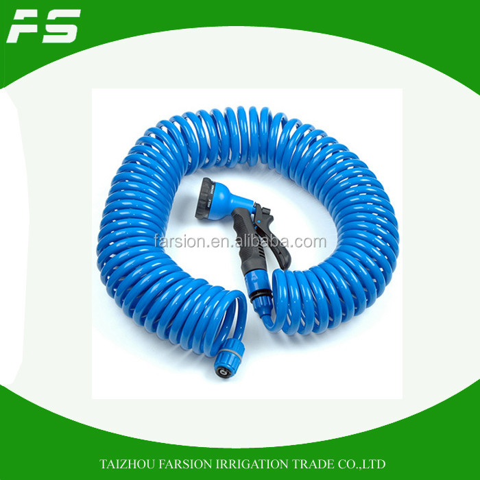 Home Decro Spring Water Hose Garden Tool Supplier From China