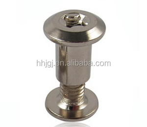 Fastener/Sleeve Nut/Hex Socket Sleeve Nut Carbon Steel Furniture Barrel Nut Splint nut T nut