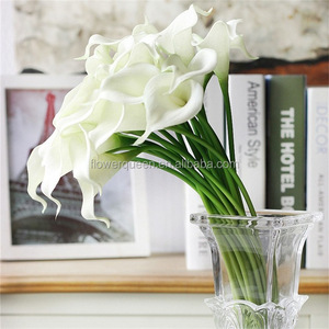 Wholesale Home Decor White Artificial Flower Artificial Pink Calla Lily Latex Calla Lily Flowers Real Touch Hand Feelings