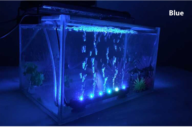 Sq 18 Waterproof Color Changing Submersible Led Bubble Lights For Aquarium Tank Buy Waterproof Led Bubble Light Color Changing Led