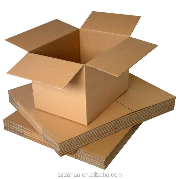 shenzhen dahua Custom Shipping Carton Corrugated Wardrobe Moving Boxes