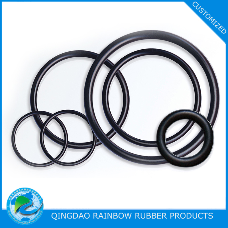 Rubber molded ring