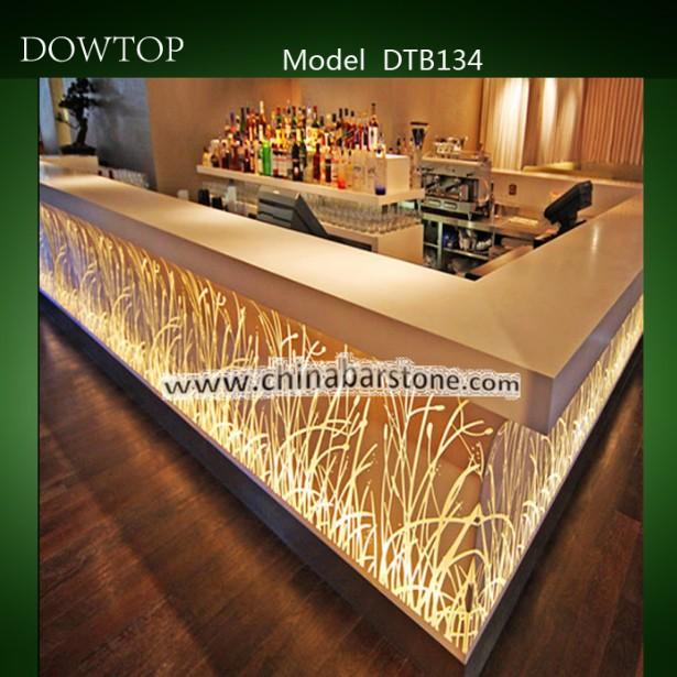 Design Esclusivo Bancone Bar In Pietra Artificiale Per Night Club,Ktv,Bar,Discoteca - Buy ...