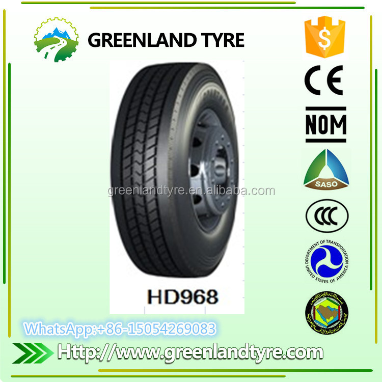 low profile tires 295 75 22.5 truck tire in china with dot approved