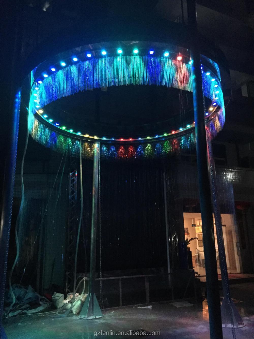 Digital Water Curtain Fountain