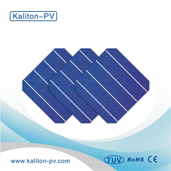 Low Price 156x156mm 4bb Monocrystalline Silicon Solar